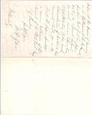 "Autograph Letter signed ""W.H. Sykes"", Indian Army officer"