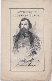 Autobiography of Johannes Ronge.