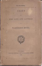 Index to the Life and Letters of Washington Irving