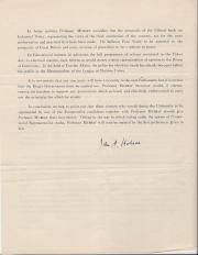 Signature, John A. Hobson