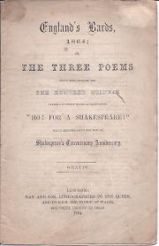 England's Bards, 1864; or, The Three Poems