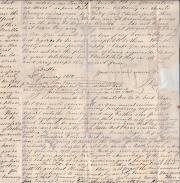 Autograph Letter Signed on Georgian India by J. Rocke