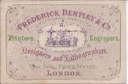 Frederick Bentley & Co. (Late Thomas Harrild.) Printers