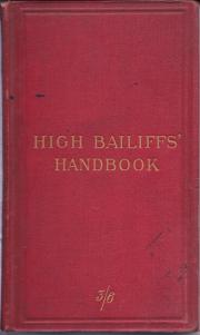 A Handbook  for High Bailiffs