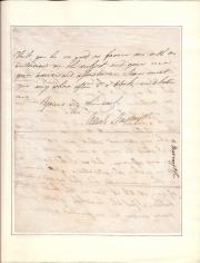 Autograph Letter Signed Alexr Nasmyth, Surgeon-Dentist
