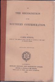 On the Recognition of the Southern Confederation
