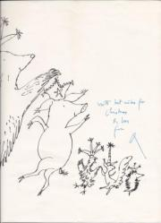 Quentin Blake (born 1932), English children's book illustrator