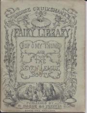 'George Cruikshank's Fairy Library'. Hop-o' my-Thumb