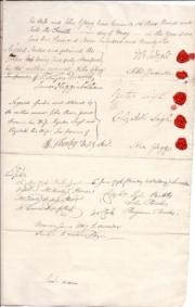 Legal property document between John Bower Jodrell of Henbury