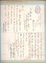 Autograph Letter Signed from George Candy QC