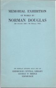 Memorial Exhibition of Works by Norman Douglas