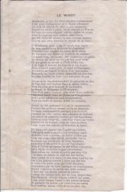 Handbill poem by 'L. N.' on the game of whist