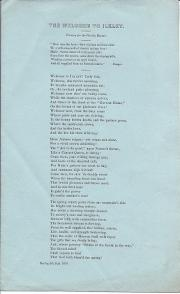 Welcome to Ilkley. Printed poem.