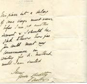 Autograph Letter Signed ('Onslow' [Earl of Onslow]) to an unnamed male recipient