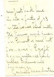 Part of Autograph Letter Signed, Consuelo Manchester