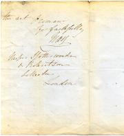 Autograph Letter Signed Gray [Lord Gray] to Messr Spottiswoode & Robertson