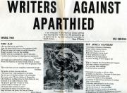 I. F. White, editor, 'Writers Against Apartheid'