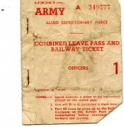 Twenty-six items of ephemera relating to the 1st Battalion The Rifle Brigade