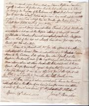 Autograph Letter Signed 'Jonan. Boucher', Washington's friend.
