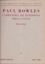 Paul Bowles, Carretera de Estepona