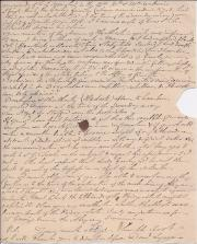 Autograph Letter Signed from Daniel Lysons to fellow-antiquary