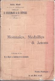 Catalogue des Monnaies, Médailles, Méreaux, etc.