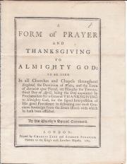 Pamphlet on King George III's illness
