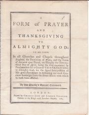 Pamphlet on King George III's illness
