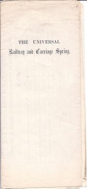 The Universal Railway & Carriage Spring Company, Limited [
