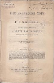 The Exchequer Note versus the Sovereign: