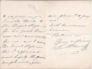 """Autograph Letter Signed """"E. Albani"""" (soprano)"""