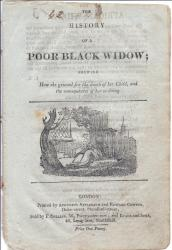 The History of a Poor Black Widow;