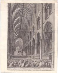 Two engravings of the Commemoration of Handel