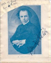 Jan Kubelik, Czech violinist and composer, and others.