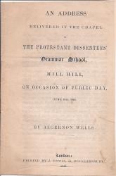 An Address delivered in the Chapel of the Protestant Dissenters' Grammar School,