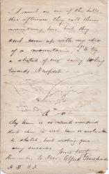 Autograph Letter Signed by Victorian artist Alfred Purchase