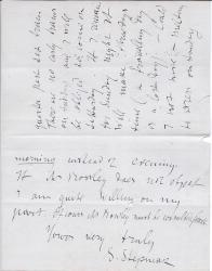 Autograph Letter Signed S. Stepniak