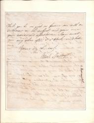Autograph Letter Signed Alexr Nasmyth, Surgeon-Dentist