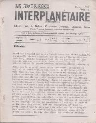 Le Courrier Interplanetaire