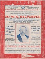 """The Original"" Mr. W. G. Sylvester"