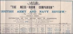 """The Mess-Room Companion"" from the ""British Army and Navy Review"""