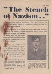 The Stench of Nazism . .