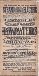A Completely New Glossary of Technical Theatrical Terms