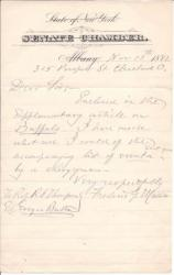 Autograph Note Signed from the historian Frederic G. Mather