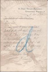 Autograph Letter Signed ('F. Anstey') from the humorist Thomas Anstey Guthrie