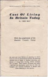 [Pamphlet] Cost of Living in Britain Today