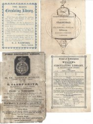 Circulating library labels