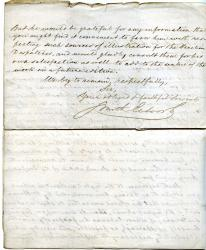 "Letter Signed ""Smith Elder"", publishers, To the Editor of the 'Athenaeum'"