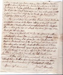 Autograph Letter Signed 'Jonan. Boucher', Washington's friend.