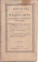 Catalogue. Société des Beaux-Arts, Malines